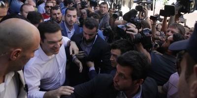 Sono chiusi i seggi in Grecia