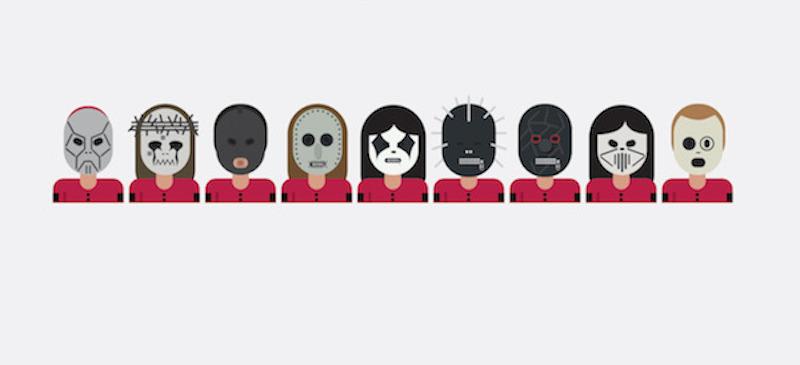 Celebri gruppi rock disegnati con gli emoji - Il Post