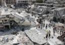 Un aereo siriano è precipitato durante un attacco sulla città di Ariha