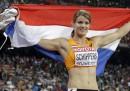 Dafne Schippers ha vinto la gara dei 200 metri ai Mondiali di atletica leggera