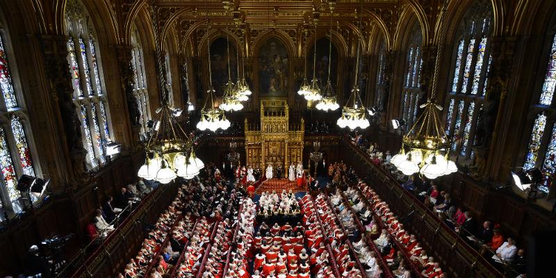 L 39 affollata e anacronistica camera dei lord il post for In parlamento oggi