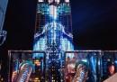 Le proiezioni sull'Empire State Building