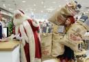 A Londra c'è già un negozio addobbato da Natale