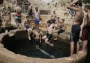 Israeliani e palestinesi al fresco, insieme