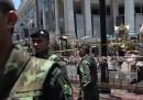 L'attentato a Bangkok