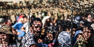 I migranti verso l'Ungheria