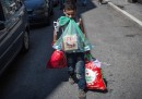 Ora i migranti sono accampati a Belgrado