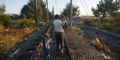 La Macedonia e i migranti, dall'inizio