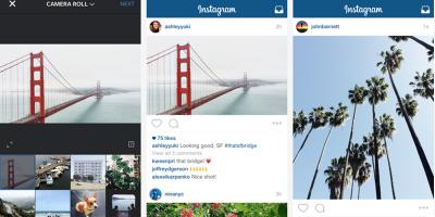Ora Instagram accetta foto rettangolari