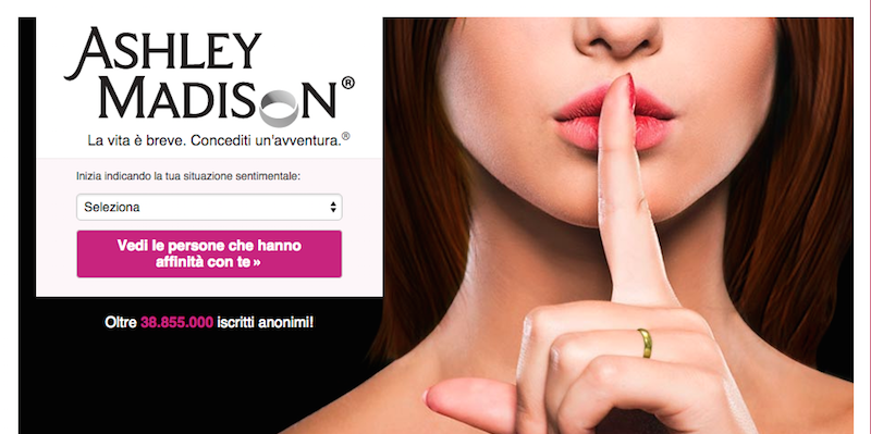 Ashley Madison sesso