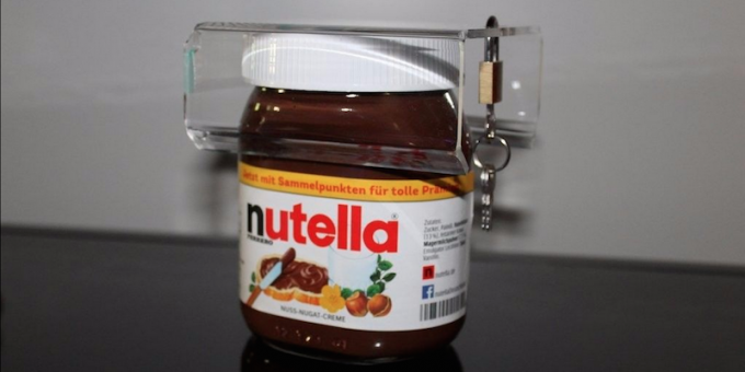 L'antifurto per non farsi rubare la Nutella