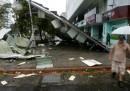 I danni del tifone Soudelor