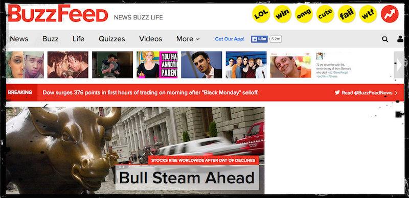 elenco di siti Web di appuntamenti BuzzFeed