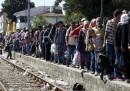 La rotta dei migranti attraverso i Balcani