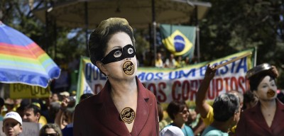 200 manifestazioni contro Dilma Rousseff