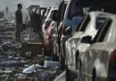La strage di Tianjin, in Cina