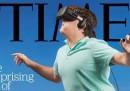 La buffa copertina di TIME sulla realtà virtuale