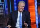 "L'ultima puntata di Jon Stewart al ""Daily Show"""