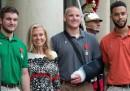 Gli eroi del treno Thalys insigniti con la Legion d'Onore