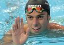 Gregorio Paltrinieri ha vinto la medaglia d'argento negli 800 metri stile libero