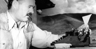 Ritratti con macchina da scrivere