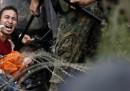 Gli scontri in Macedonia