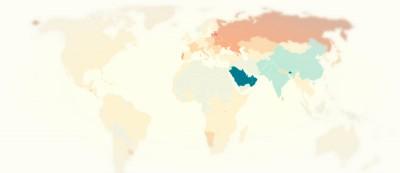 Come sono distribuiti uomini e donne nel mondo