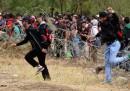 Le foto dei migranti entrati oggi in Macedonia