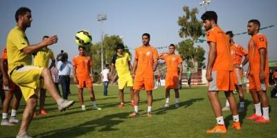 Una storica partita di calcio a Gaza