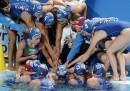 L'Italia femminile di pallanuoto ha vinto il bronzo ai Mondiali in Russia