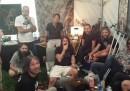 I Foo Fighters hanno incontrato gli organizzatori del video di Cesena