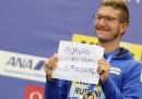 La proposta di matrimonio di Simone Ruffini ai Mondiali di nuoto
