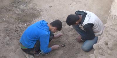 I video degli scavi archeologici abusivi in Siria