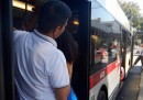 Lo sciopero a Roma dei mezzi pubblici ATAC, venerdì 7 agosto