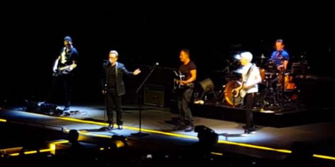 Bruce Springsteen e gli U2, insieme a New York