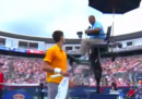 Djokovic durante la Rogers Cup: «Qualcuno sta fumando erba»