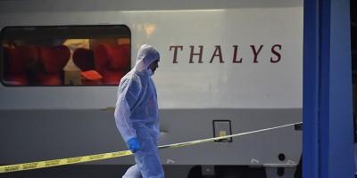 La sparatoria sul treno in Francia