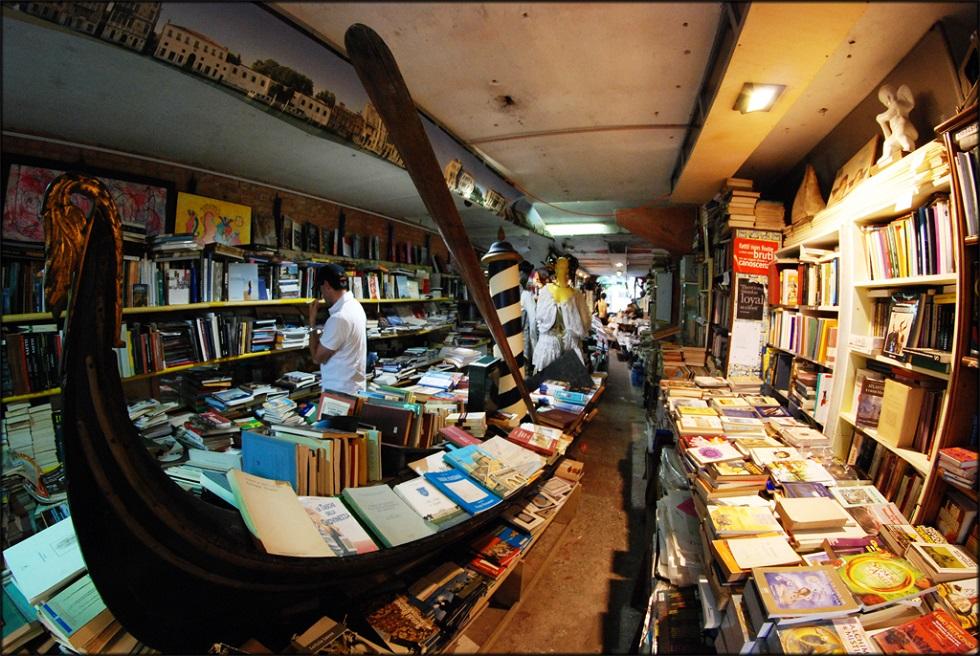 Le 10 migliori librerie indipendenti del mondo il post for Arredamento mestre