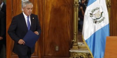 Il presidente del Guatemala si è dimesso