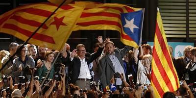 Gli indipendentisti hanno vinto in Catalogna