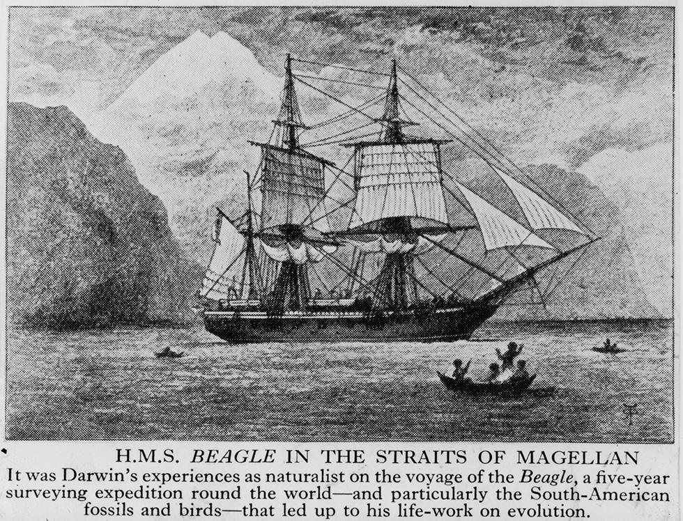 HMS Beagle, la barca di Darwin e Fitz Roy