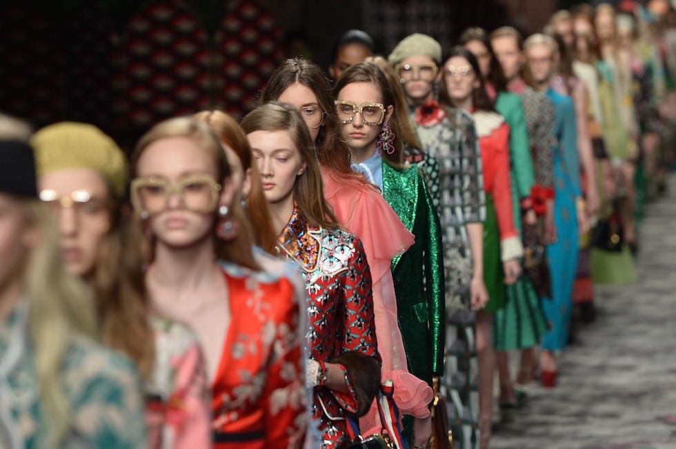 Cosa si dice della sfilata di gucci il post for Fashion design milano
