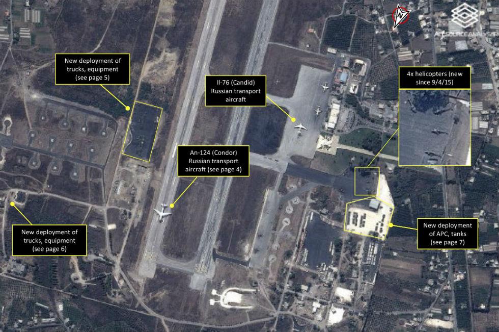 Immagini satellitari Siria