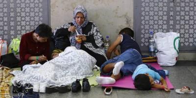 I migranti arrivati lunedì a Monaco di Baviera