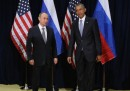 Le goffe foto di Obama e Putin all'ONU