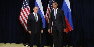 Le goffe foto di Obama e Putin all'ONU