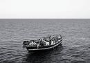 La copertina del New York Times Magazine sui migranti nel Mediterraneo