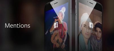 """Mentions"", l'app per lo streaming di Facebook"
