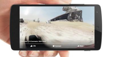 Il video di Star Wars a 360 gradi su Facebook