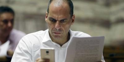 I cinque minuti di celebrità di Varoufakis